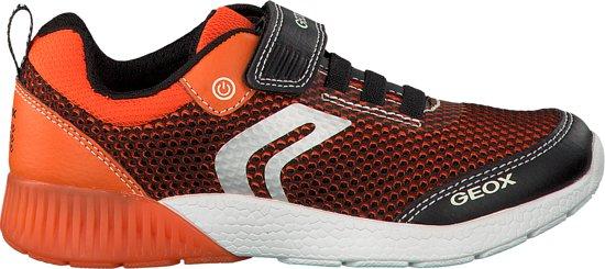 5a8422793b0 bol.com | Geox Jongens Sneakers J826pb - Oranje - Maat 29