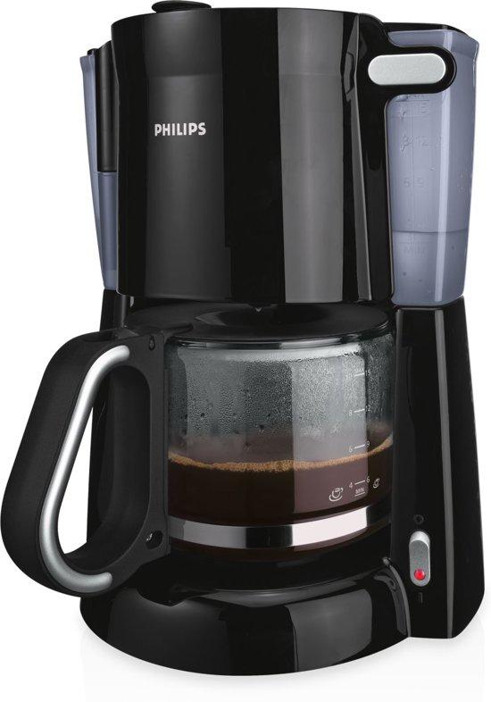 philips daily hd7448 20 koffiezetapparaat zwart. Black Bedroom Furniture Sets. Home Design Ideas