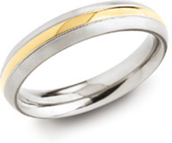 Boccia Titanium 0130-02 Ring - Titanium - Bicolor
