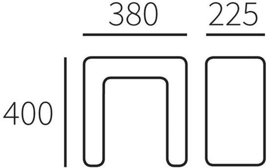 Allux Pakketkast Verankering Allux 8002 - Verzinkt