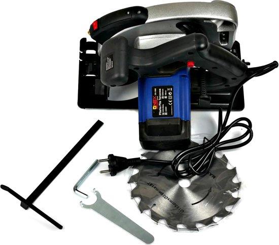 ONEX OX-1065 Cirkelzaag 2400 W - Inclusief zaagblad - met laser