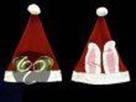 Kerstmuts Met Licht : Bol kerstmuts met rendier oren partyproduct speelgoed