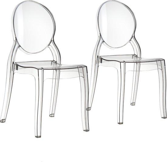 Transparante Design Stoelen.Bol Com Zuiver Stoel Elizabeth Transparant