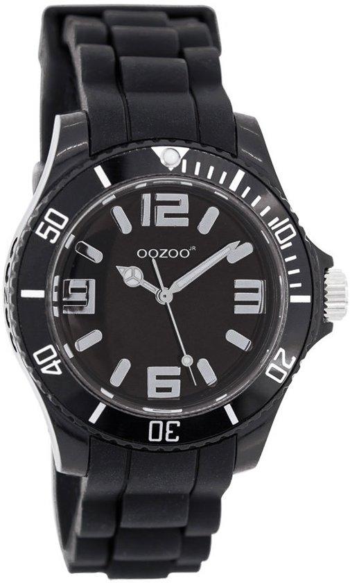 OOZOO Junior JR219 - Horloge - Siliconen - 36 mm - Zwart