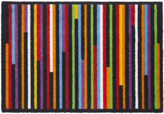 Polyamide Multi kleuren Ambiance Flash Linea 50x70 cm