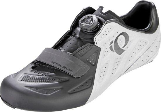PEARL iZUMi Elite Road V5 Schoenen Heren, black/silver reflective Schoenmaat EU 45,5