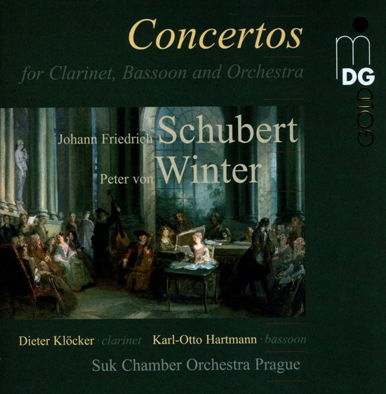 Concertos For Clarinet & Bassoon