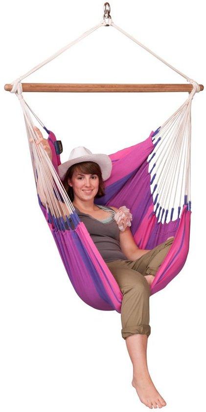 Hangstoel 'Orquidea' purple