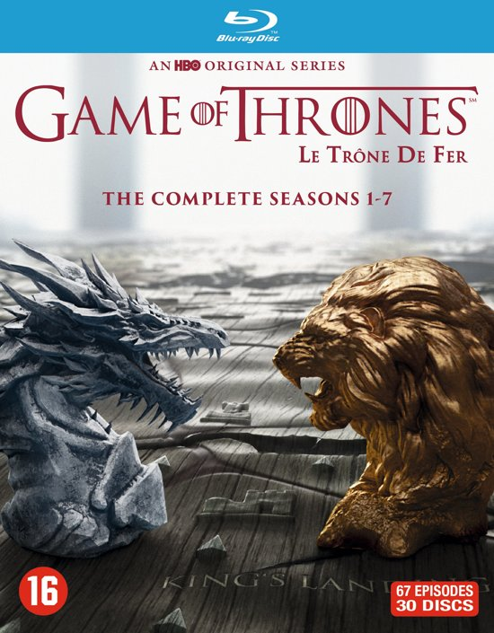 DVD cover van Game Of Thrones - Seizoen 1 t/m 7 (Blu-ray)