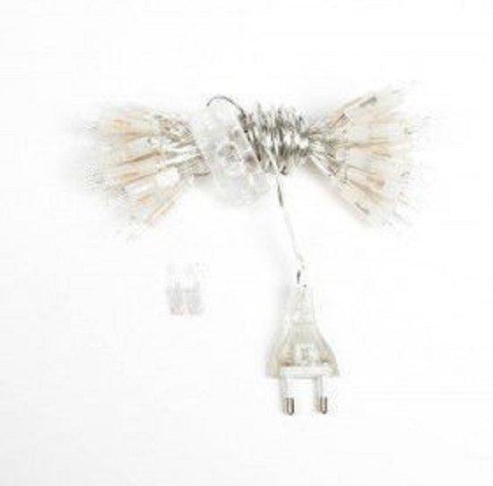 Cotton Ball Lights Lichtslinger met 35 Lampjes in Lus