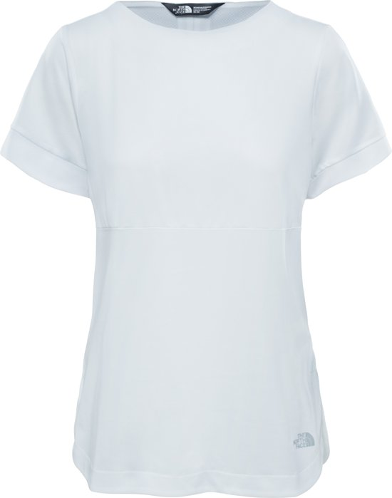 The North Face Inlux S/S Shirt - Dames - TNF White Inlux S/S Top