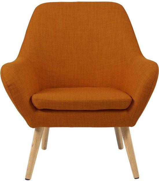 Fauteuil Oranje Stof.24designs Fauteuil Sabrina Stof Oranje