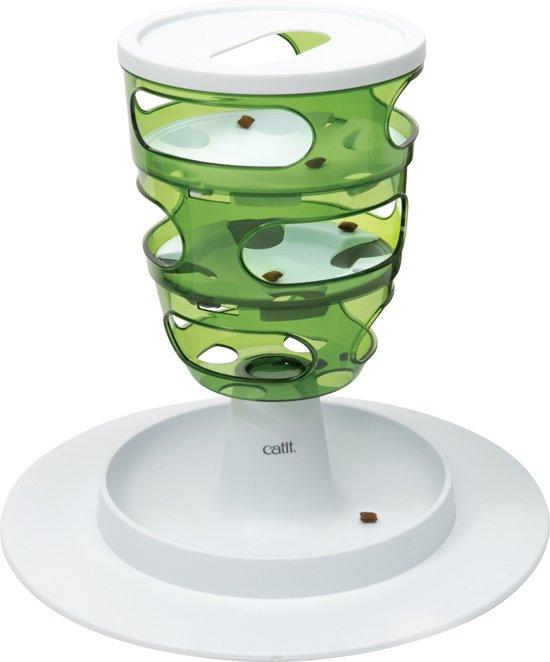 Cat-It Senses 2.0 Food Tree - Voerbak - Wit/Groen - Ø 35 cm