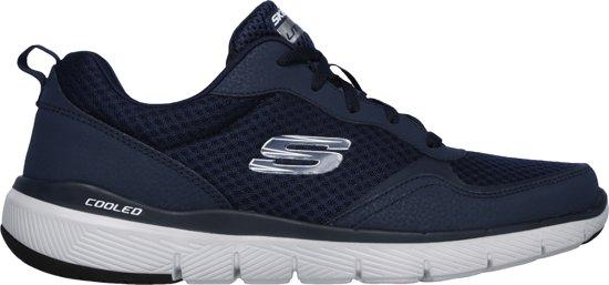 Maat 3 Sneakers 0 5 Heren Advantage Navy Skechers 48 Flex Fp7AS