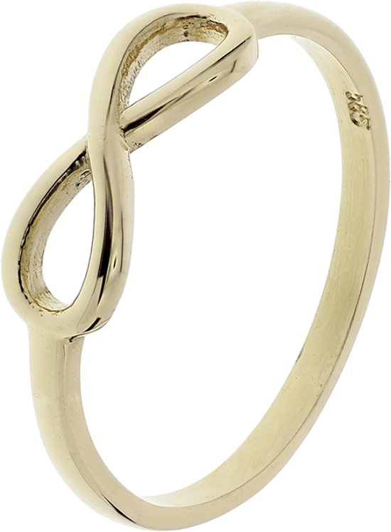 The Fashion Jewelry Collection Ring Infinity - Geelgoud