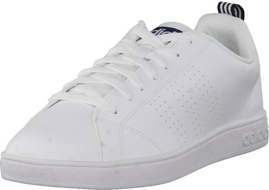 c5b66a71db adidas Advantage Clean - Sneakers - Unisex - Wit Wit Navy - Maat 39