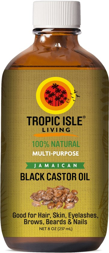 Tropic Island Living Jamaican Black Castor Oil