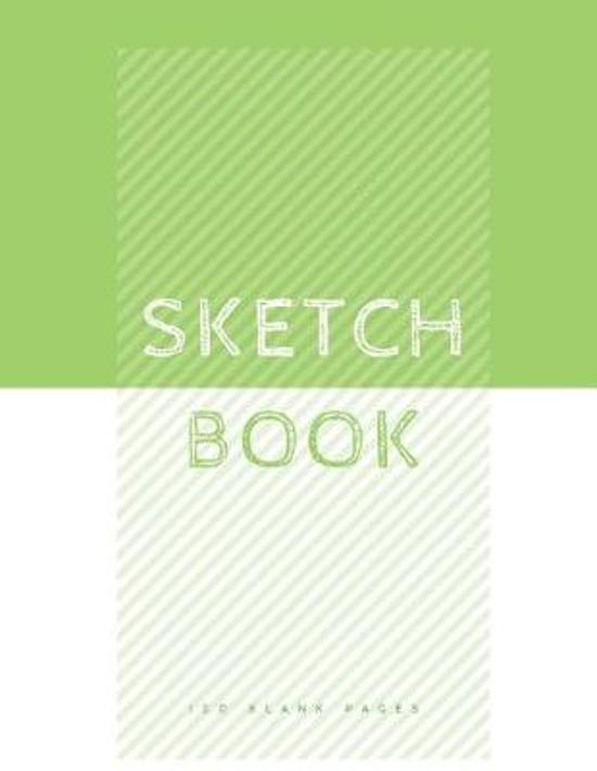 Green and White Sketchbook