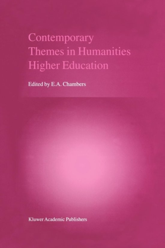 Contemporary Themes in Humanities Higher Education