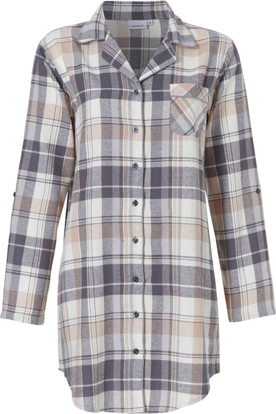 flanellen ruit blouse