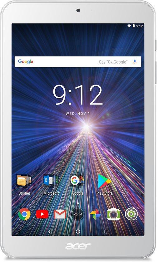 Acer Iconia One 8 B1-870-K2W9 - 8 inch - WiFi - 16GB - Wit