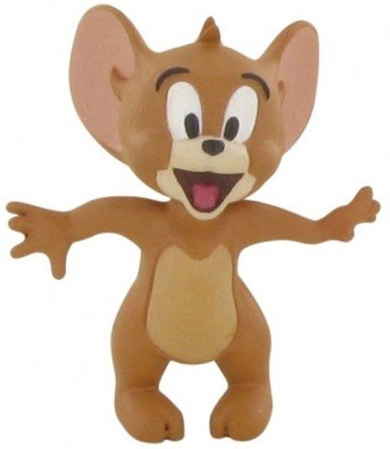 Afbeelding van Comansi Speelfiguur Tom & Jerry smiling 6 Cm Bruin speelgoed