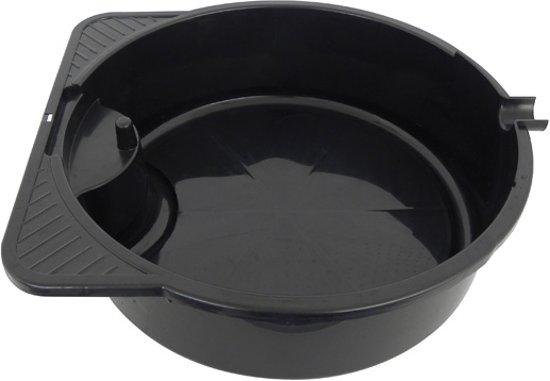 Olie Opvangbak 8 Liter - Opvangbak voor Vloeistoffen - Lekbak - 8 Liter - 37cm - Zwart