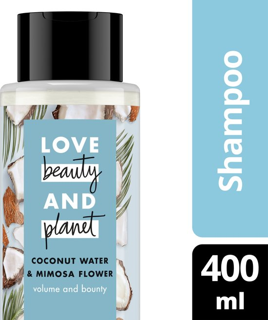 Love Beauty and Planet Shampoo Volume and Bounty - 400 ml - Coconut Water & Mimosa Flower