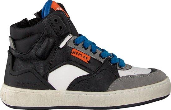 Replay Jongens Sneakers Bokkai - Zwart - Maat 33