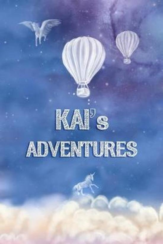 Kai's Adventures: Softcover Personalized Keepsake Journal, Custom Diary, Writing Notebook with Lined Pages