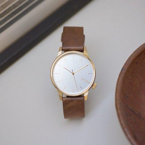 Komono Winston Regal Saddle Brown Horloge