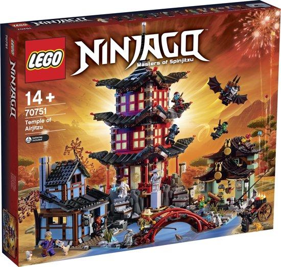 LEGO NINJAGO Tempel van Airjitzu - 70751