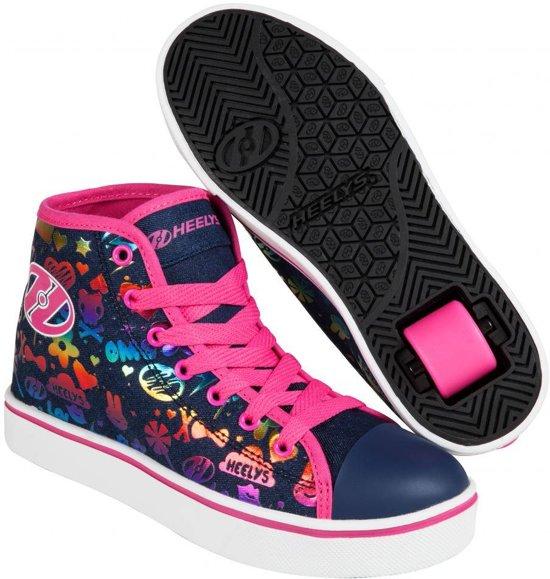 Heelys Rolschoenen Veloz Denim - Sneakers - Kinderen - Maat 31 - regenboogprint