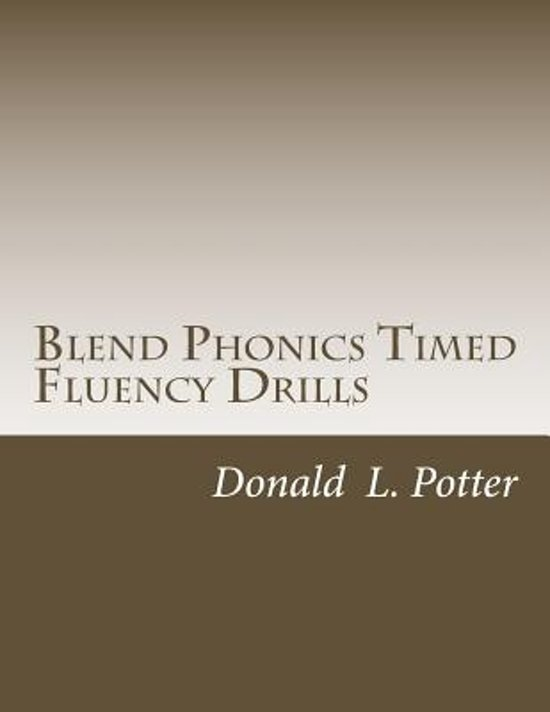 Blend Phonics Timed Fluency Drills