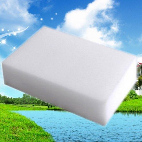10X Wonderspons - Haal alle vlekken gemakkelijke weg - Melamine spons - Magic Sponge