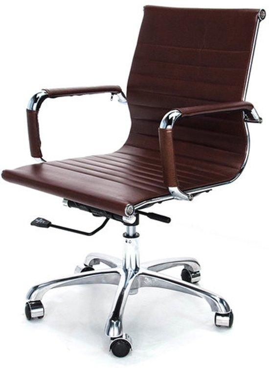 Meubelen online bureaustoel doc vintage bruin for Bureaustoel vintage