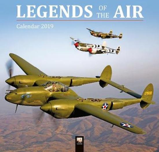Vliegtuigen - Legends of the Air Kalender 2019