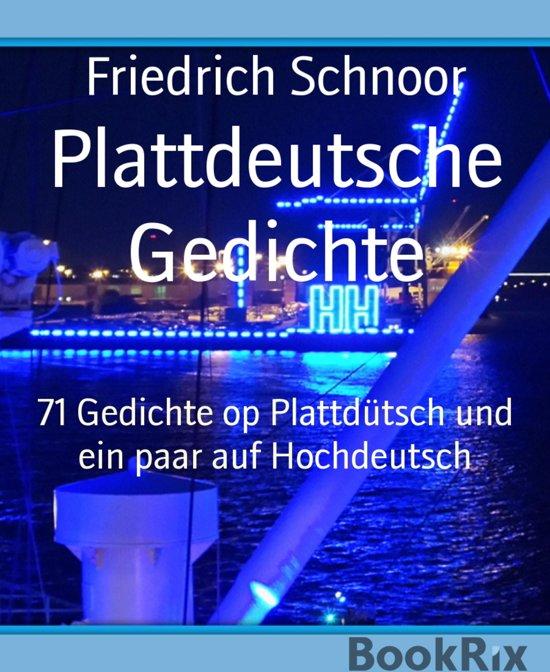 Plattdeutsche Gedichte