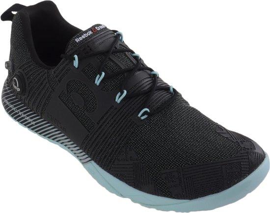 Reebok Crossfit Nano Pump Fusion  Fitnessschoenen - Maat 42.5 - Vrouwen - zwart/blauw