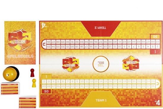 Bordspel 5 tegen 5 - Quizspel