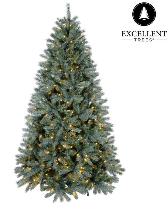 kerstboom excellent trees led uppsala 180 cm met verlichting luxe uitvoering 280 lampjes