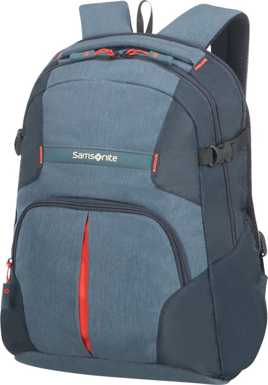 9a4d3163e3c bol.com | Samsonite Rewind Laptop Rugzak Grijsblauw M
