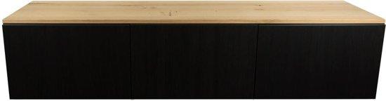 Rustiek Eiken BESTA IKEA houten tv-meubel blad, 1800x400x20mm, Lak