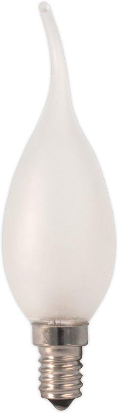 Calex Kaarslamp Gloeilamp - TIP 10W E14 Mat - (10 stuks)