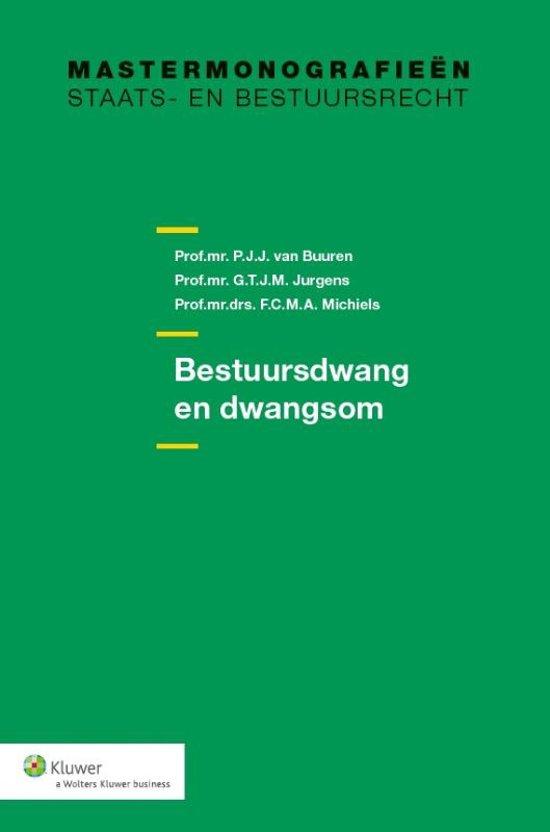 Boek cover Bestuursdwang en dwangsom van P.J.J. van Buuren (Paperback)