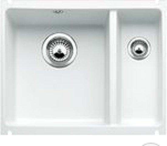 Blanco Subline 350/150-U onderbouw wit 514525 spoelbak