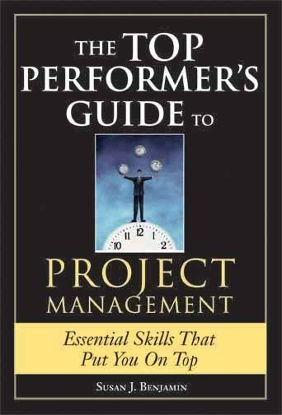 Top Performer's Guide to Project Management