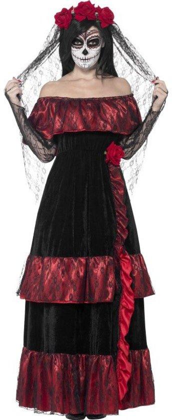 Mexicaanse bruid Halloween kostuum voor vrouwen  - Verkleedkleding - maat 44/46
