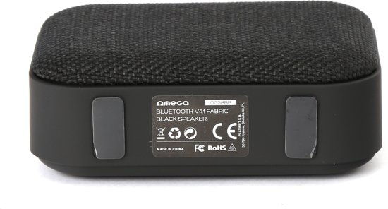 Draadloze bluetooth mini speaker omega - zuivere geluidskwaliteit - klein maar fijn - kwaliteit - radio fm - micro sd card reader