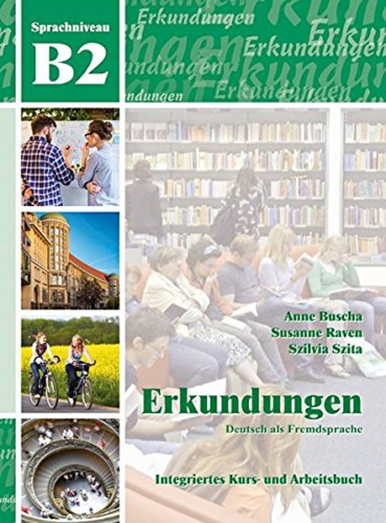 Boek cover Erkundungen DaF B2 Neu Kurs- und Arbeitsbuch + CD van Marcus Pfister (Onbekend)